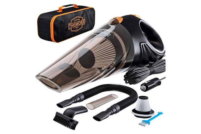 Portable car vacuum