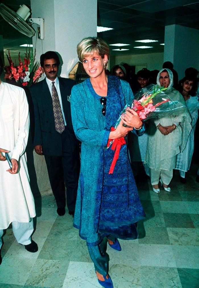 Princess Diana royal tour pakistan
