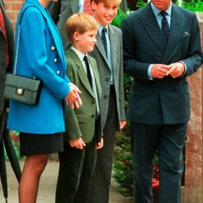 Princess Diana before divorce