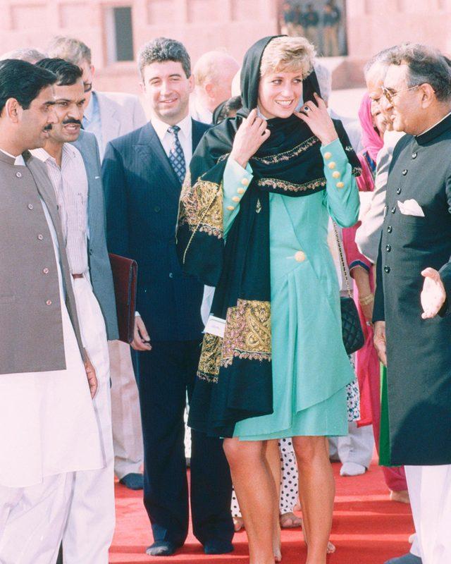 Princess Diana royal tour of Pakistan