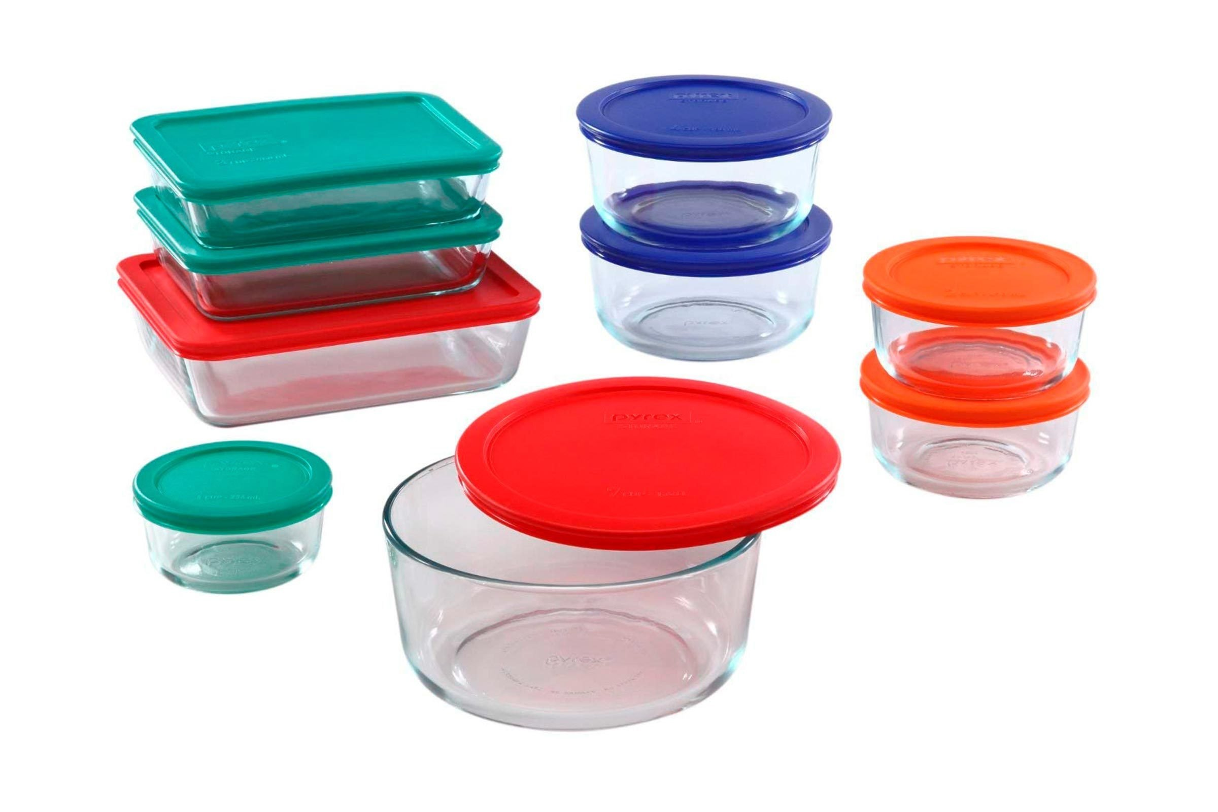 Pyrex glass storage