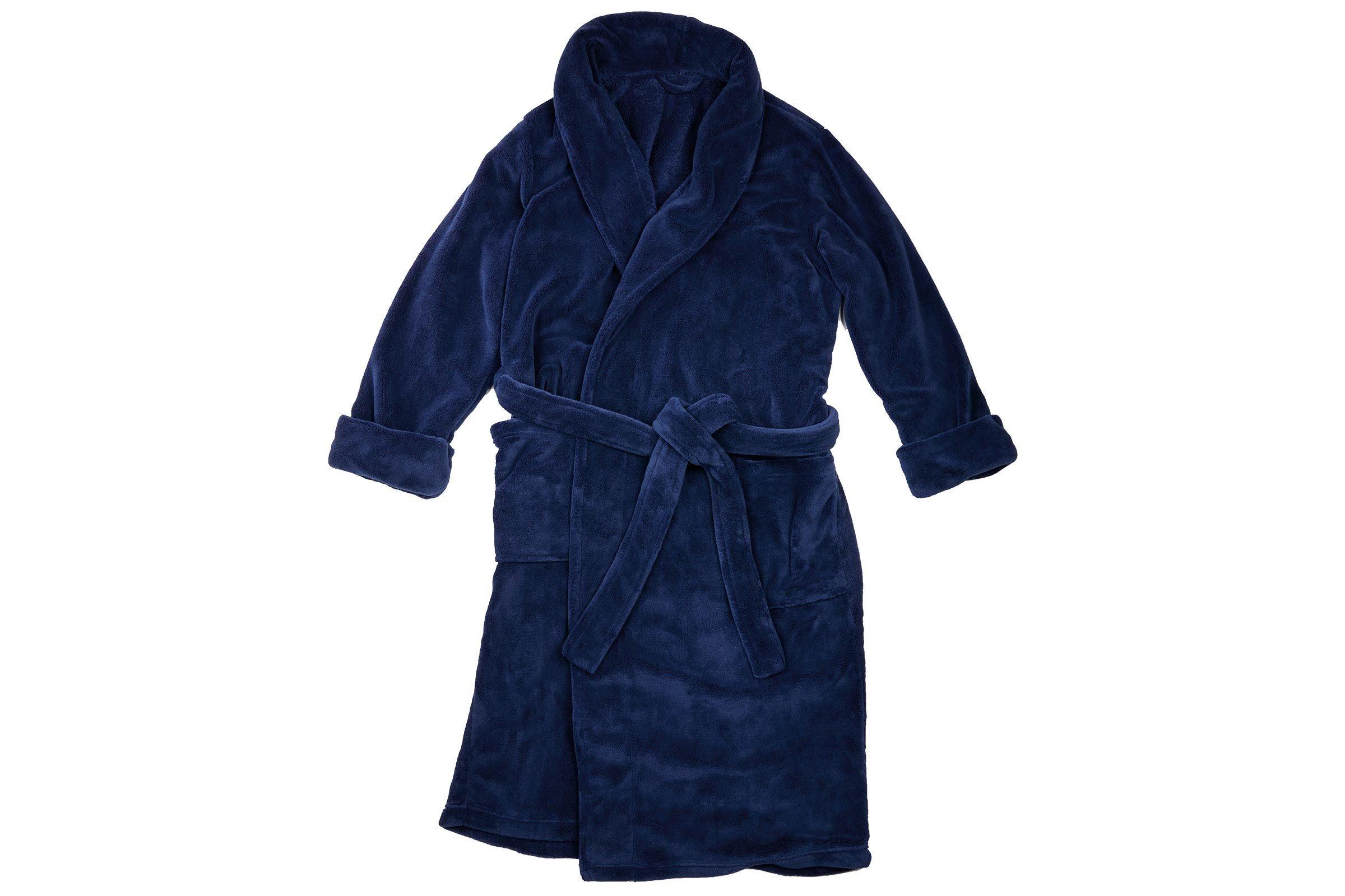 Royal Class Men's Micro Plush Bath Robe