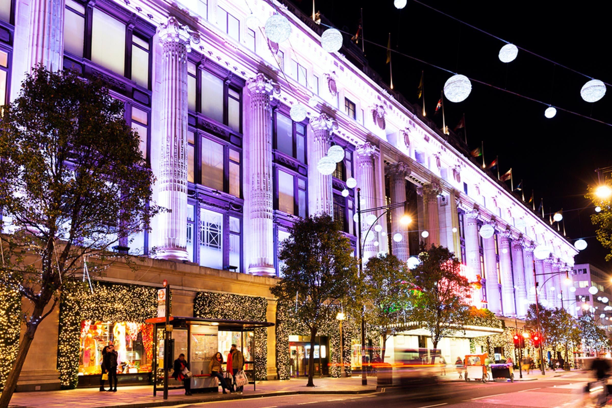Selfridges department store London