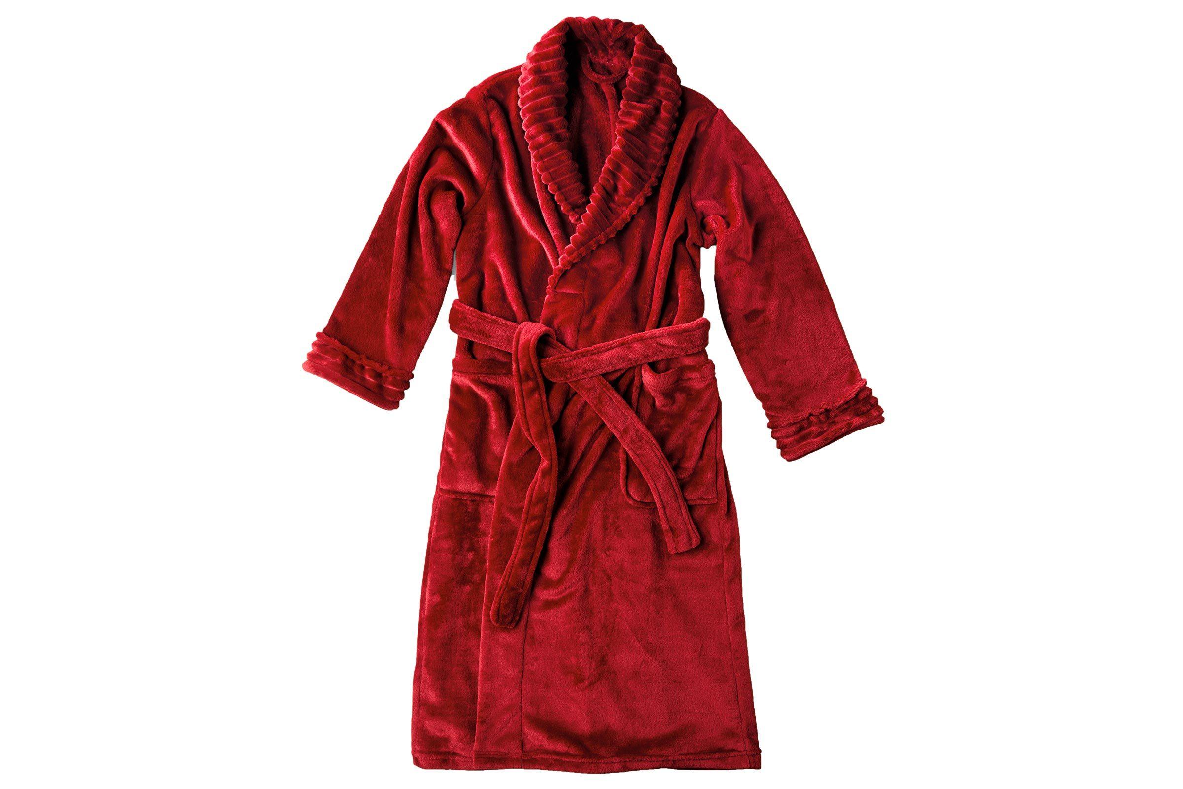 Serra Ladies Micro Plush Bath Robe