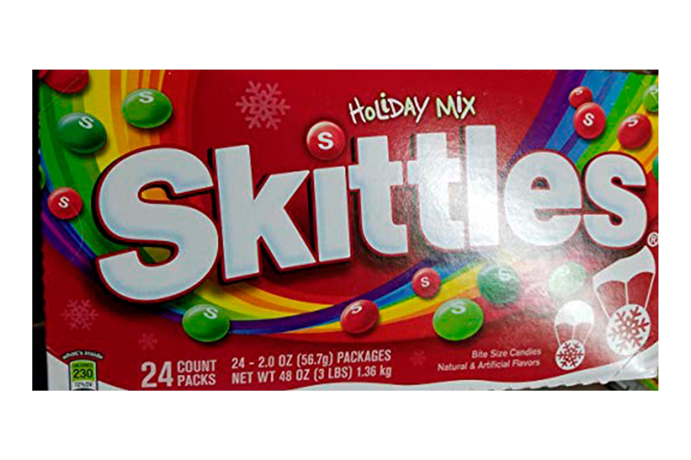 Skittles Holiday Mix