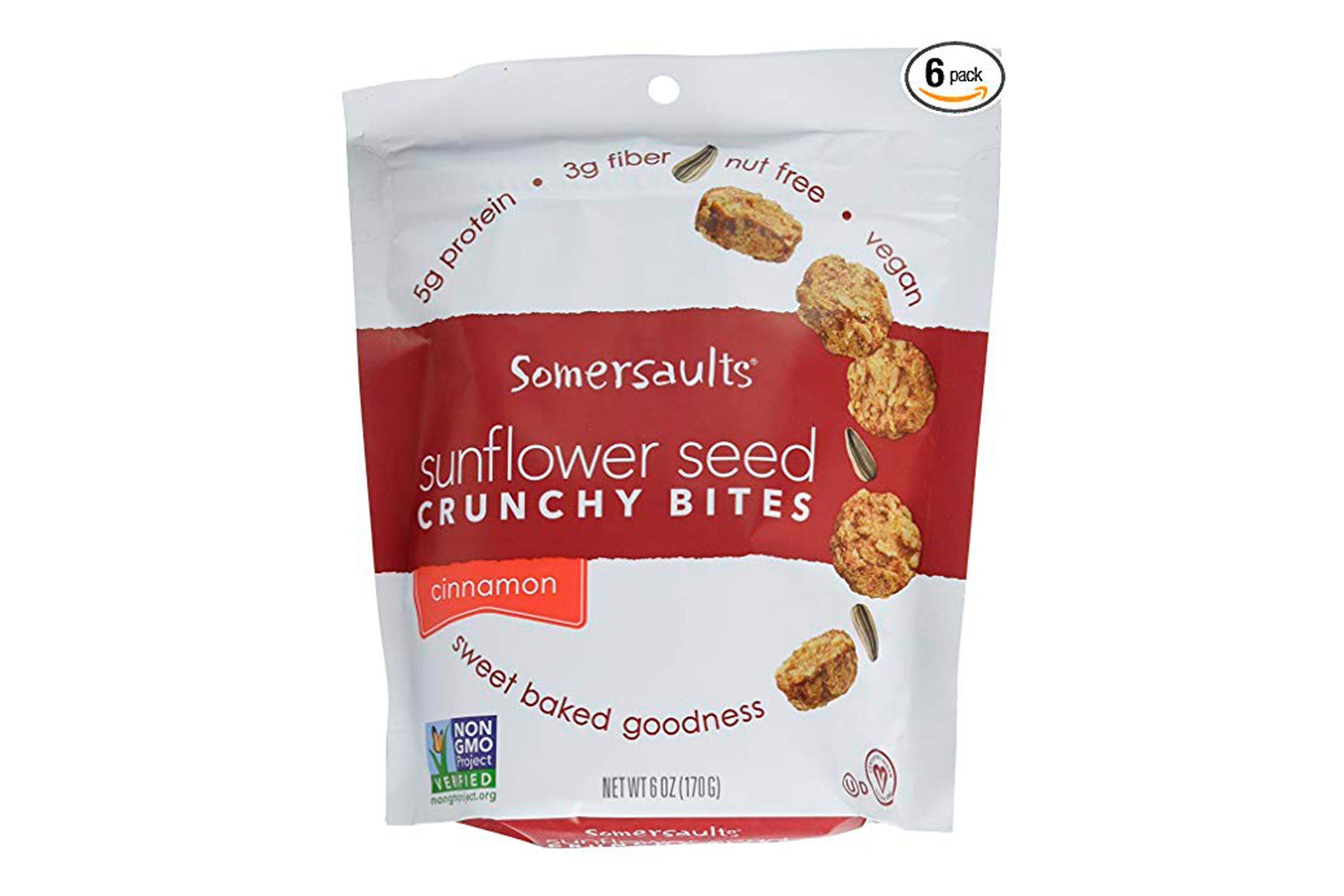 Somersaults Sunflower Seed Bites
