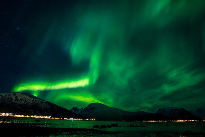 Sortland Norway northern lights