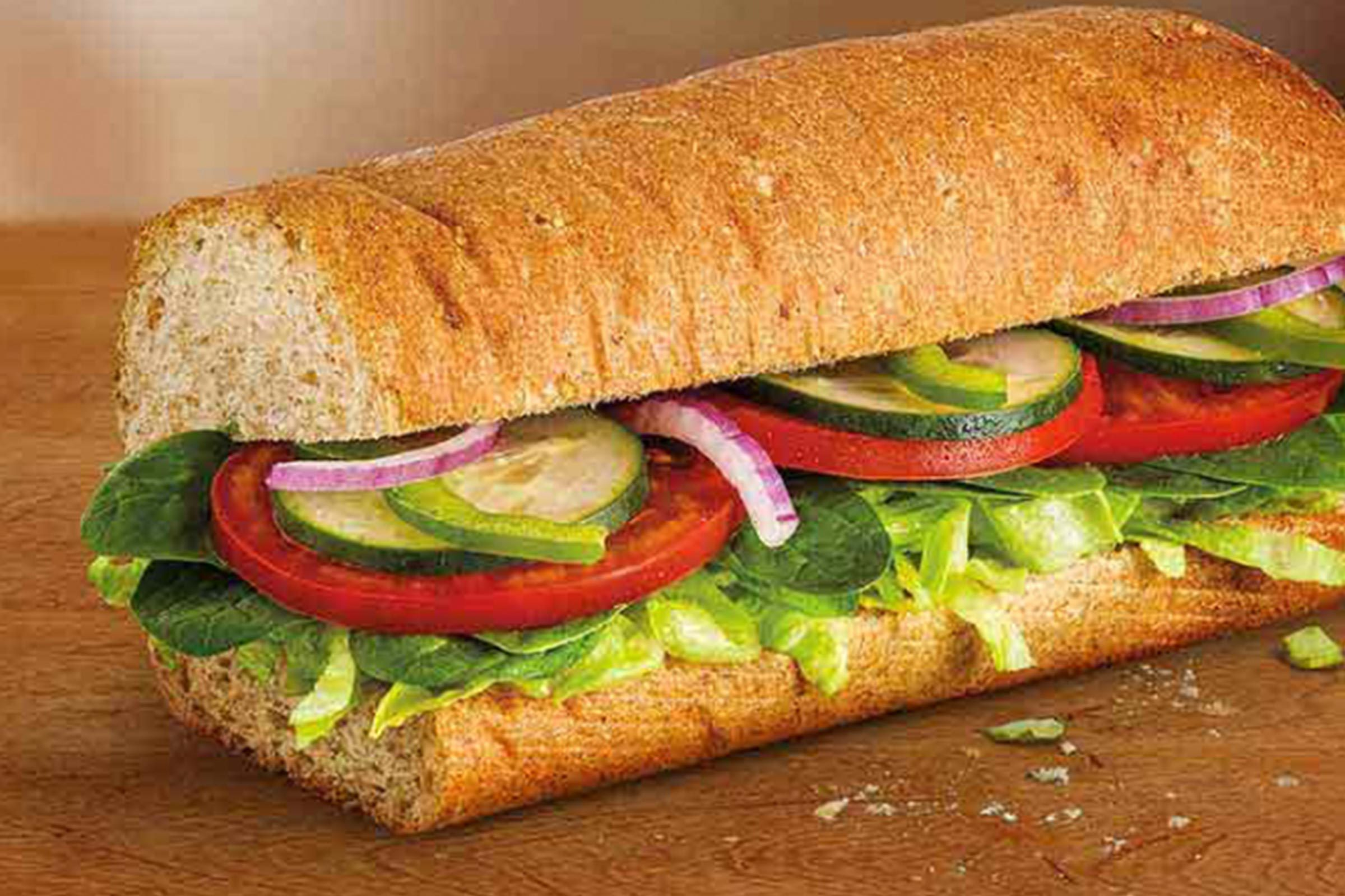 Subway Veggie Delight