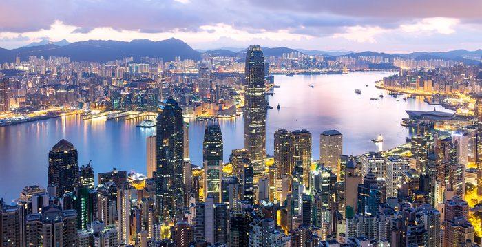 Hong Kong sunrise