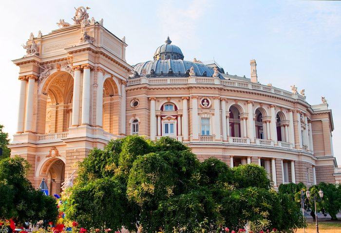 Building of Opera theater in Odessa, Ukraine
