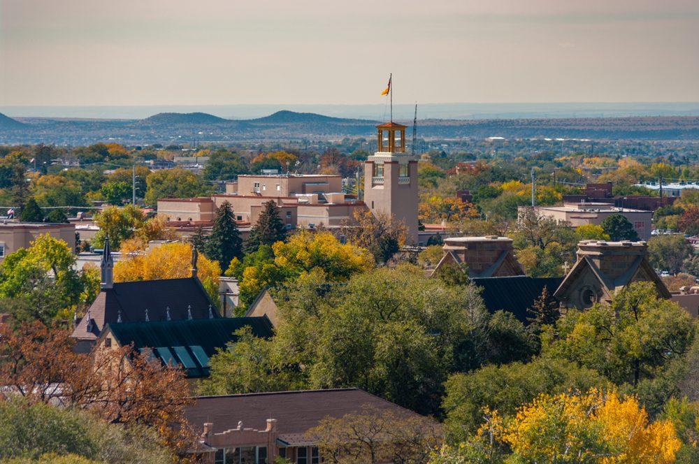 Views of Santa Fe New Mexico