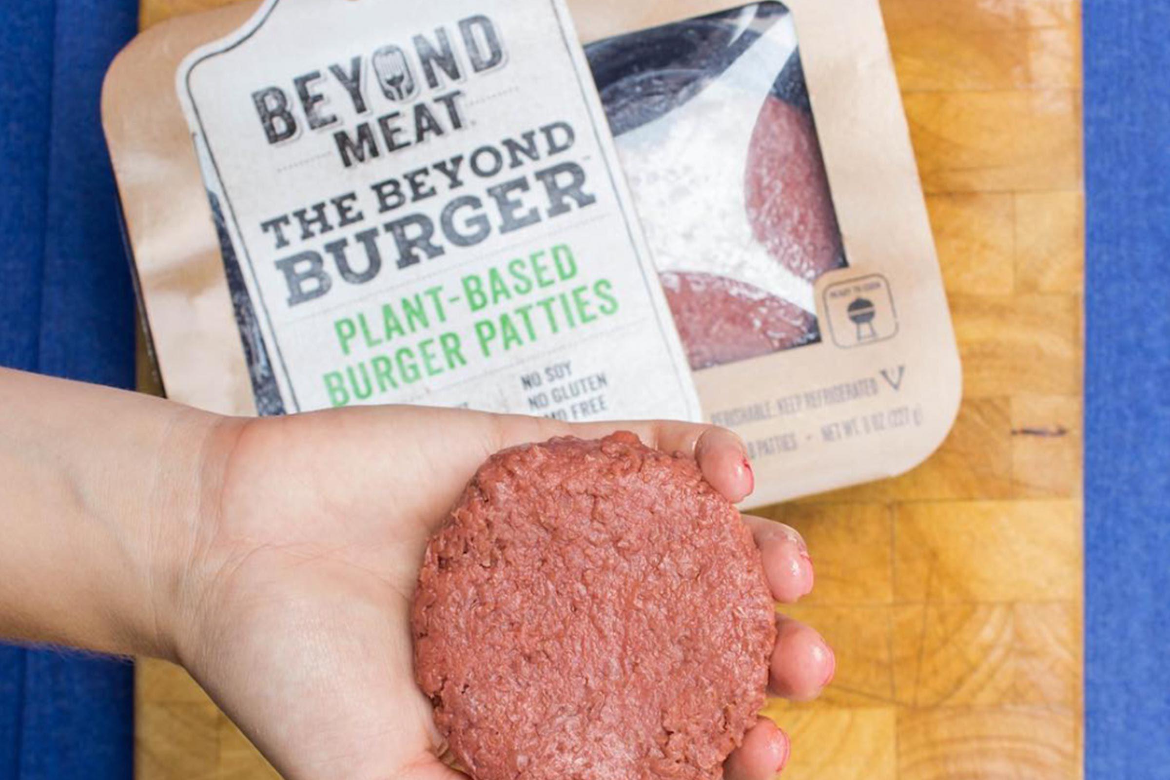 Vegan burger patties