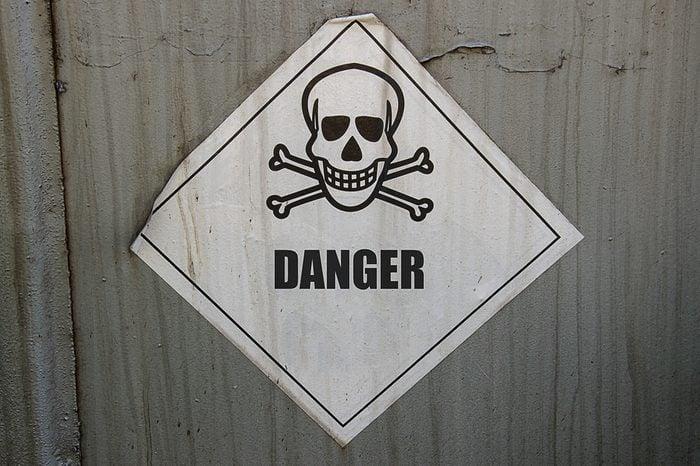 Sign DANGER