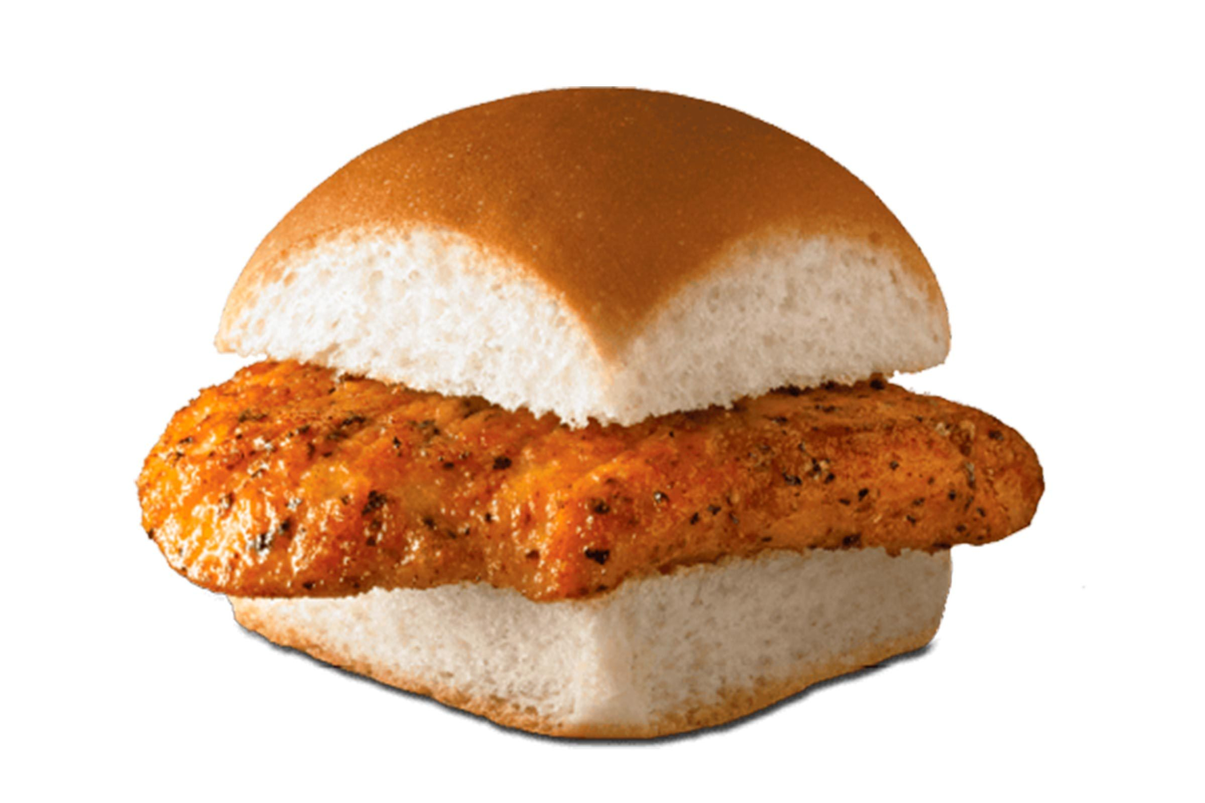White Castle Savory chicken slider