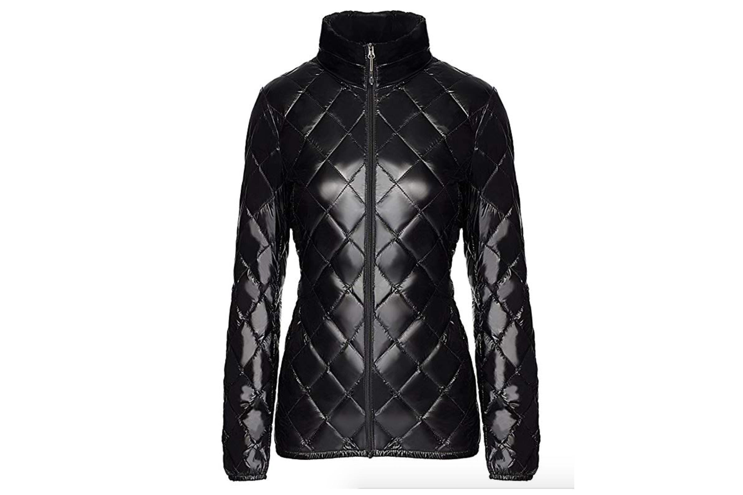 Women's nano light down jacket