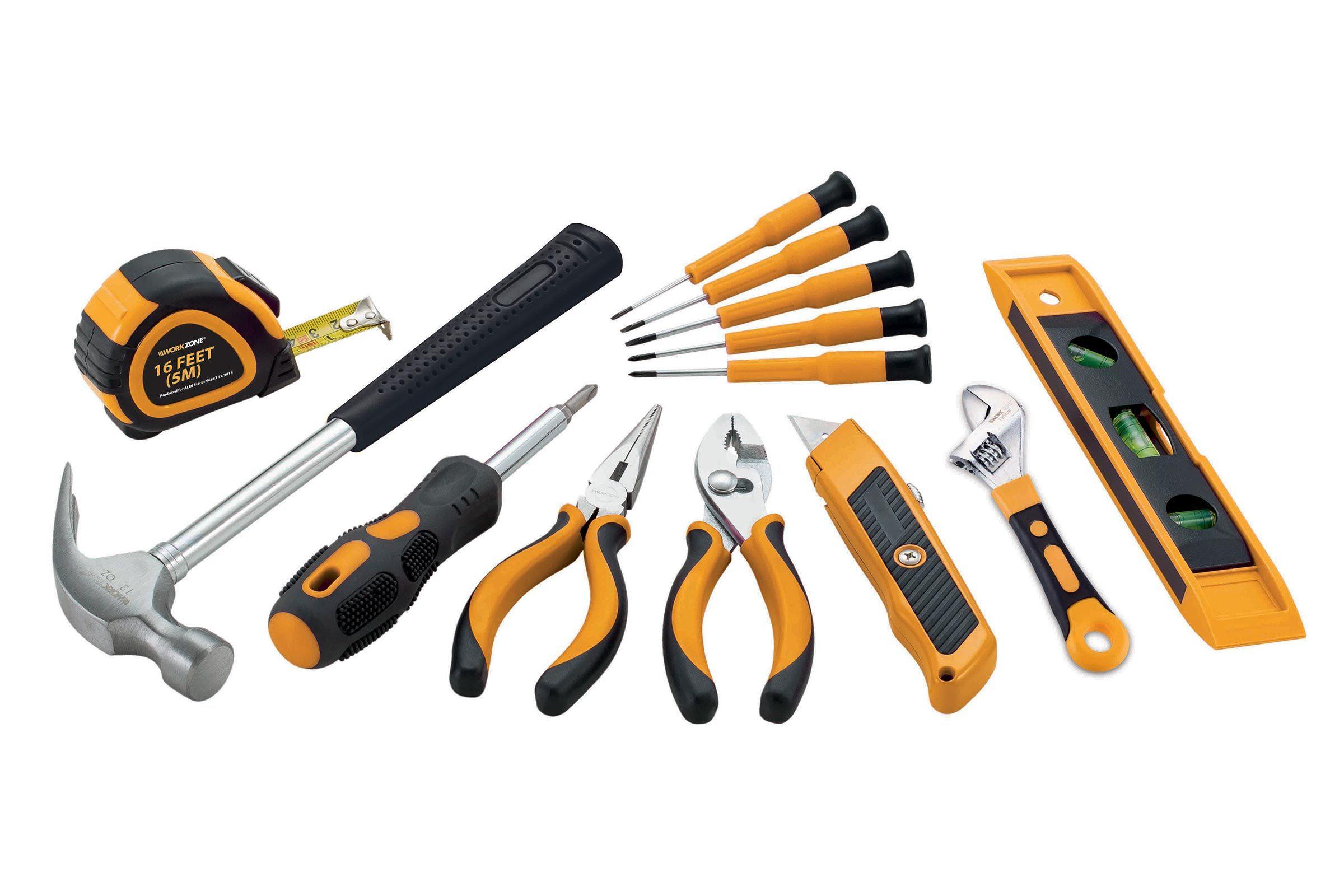Workzone 18 piece tool set