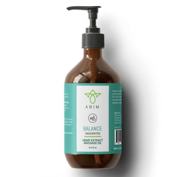 Asheville Botanicals Anim Massage Oil