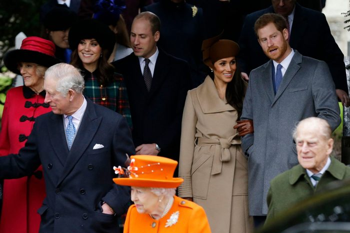 Britain Royals Christmas, Sandringham, United Kingdom - 25 Dec 2017