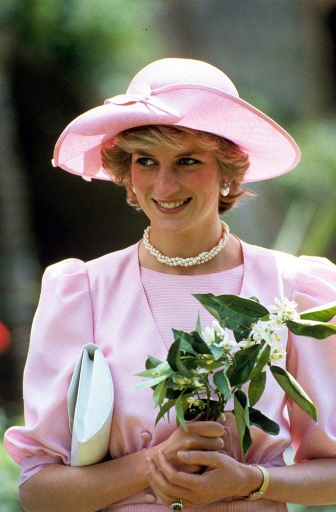 British royal tour of Italy - 1985