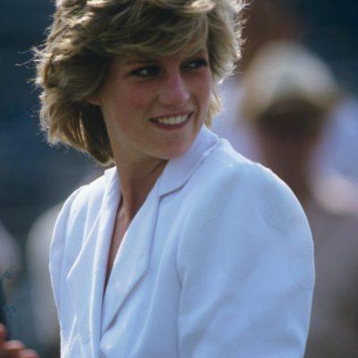 British royalty at polo, Britain - 1985