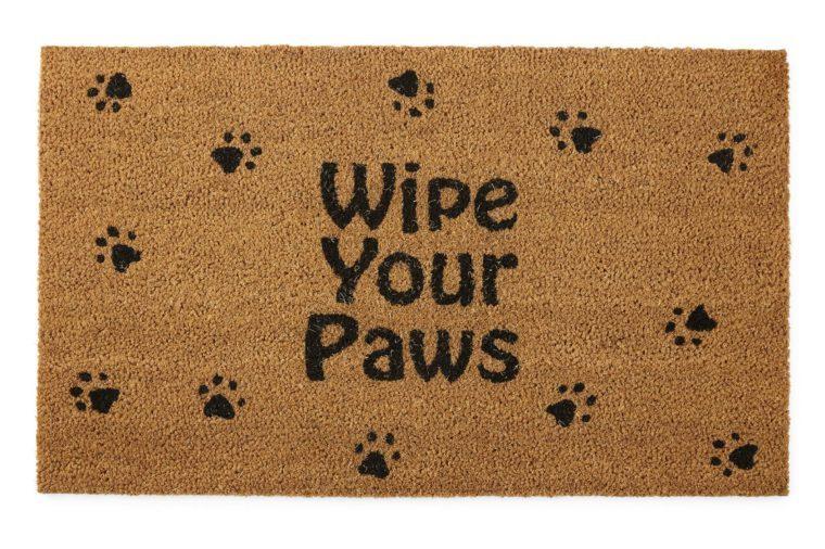 wipe your paws matt