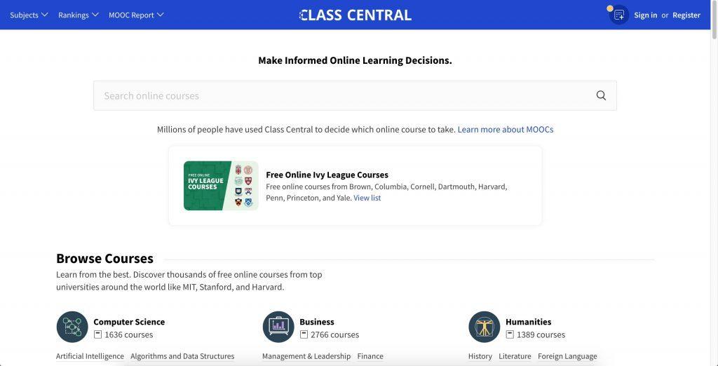 classcentral