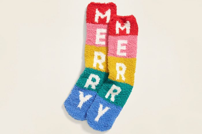 old navy fuzzy socks for women