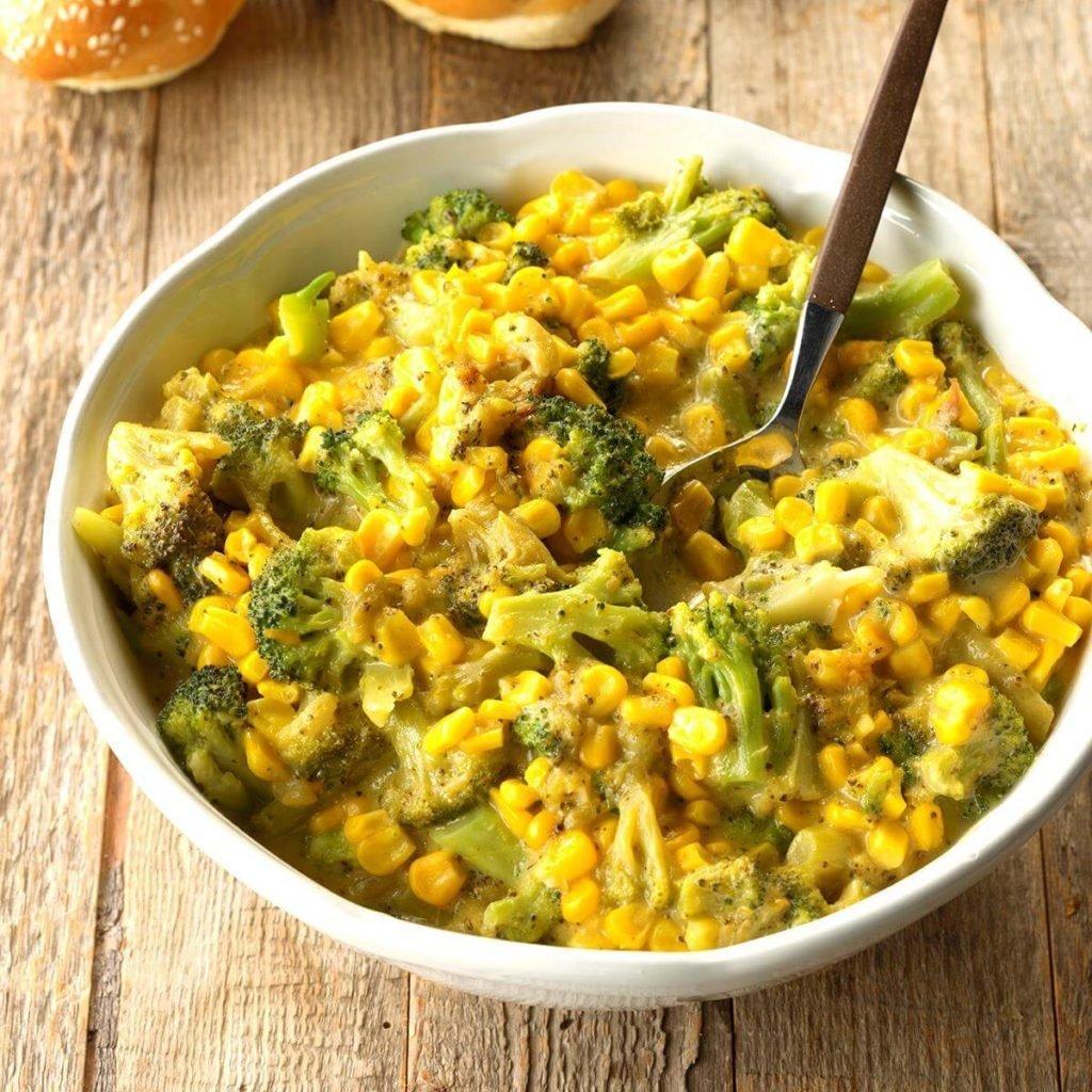 corn broccoli cheese