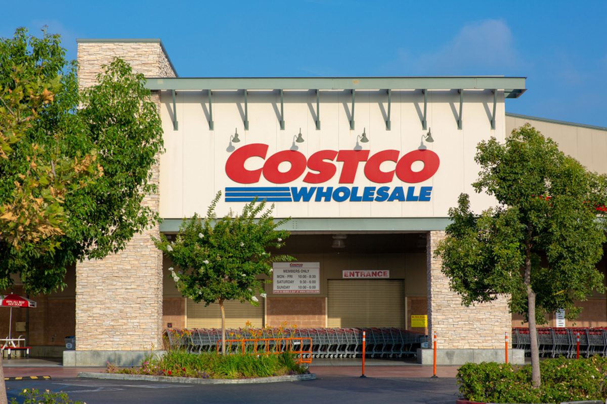 Costco Wholesale storefront.