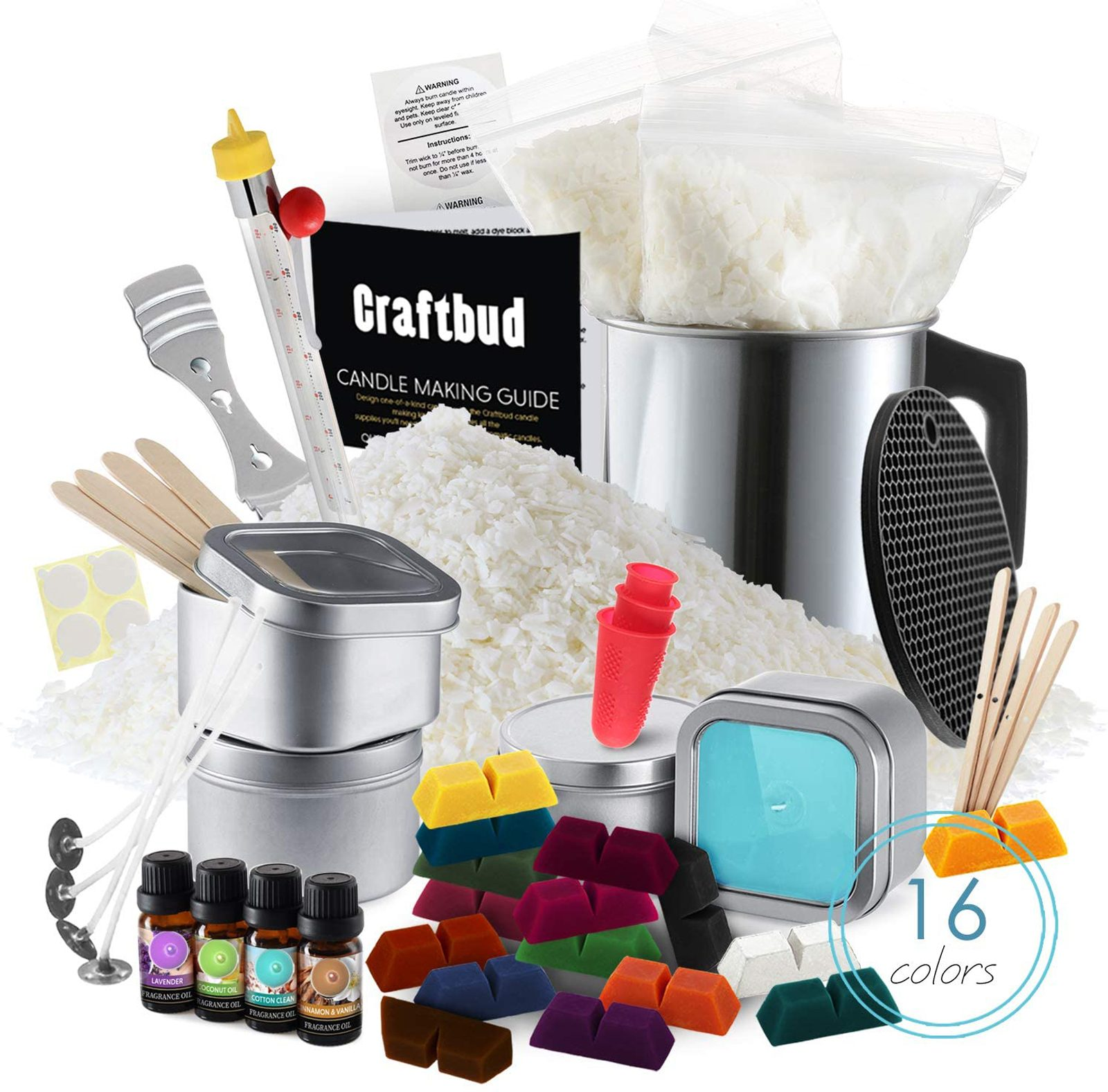 CraftBud Candle Making Kit