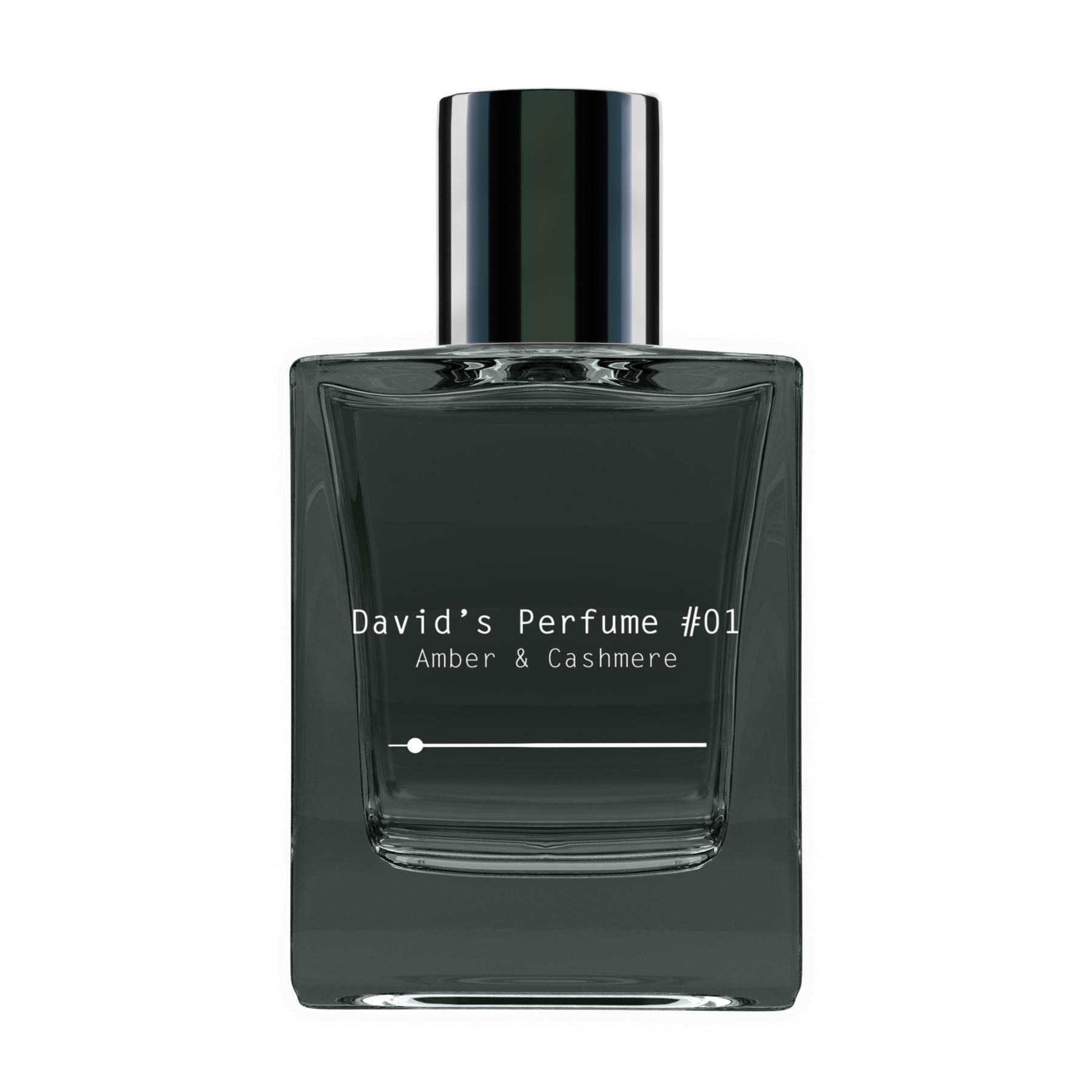 David's Perfume by David Dobrik in Amber and Cashmere