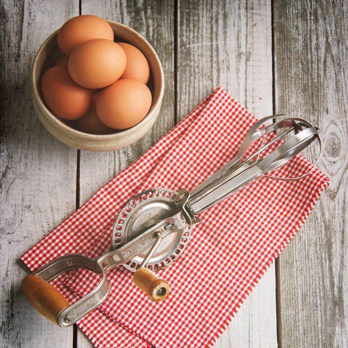 Vintage Egg Beater Food