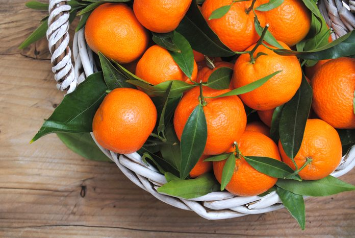 Mandarin oranges What to eat on new years