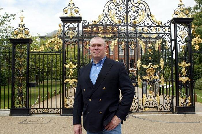Mervyn Wycherley Diana's Ex-chef ... In Kensington Gardens Outside Kensington Palace Home To Princess Diana When She Was Alive.