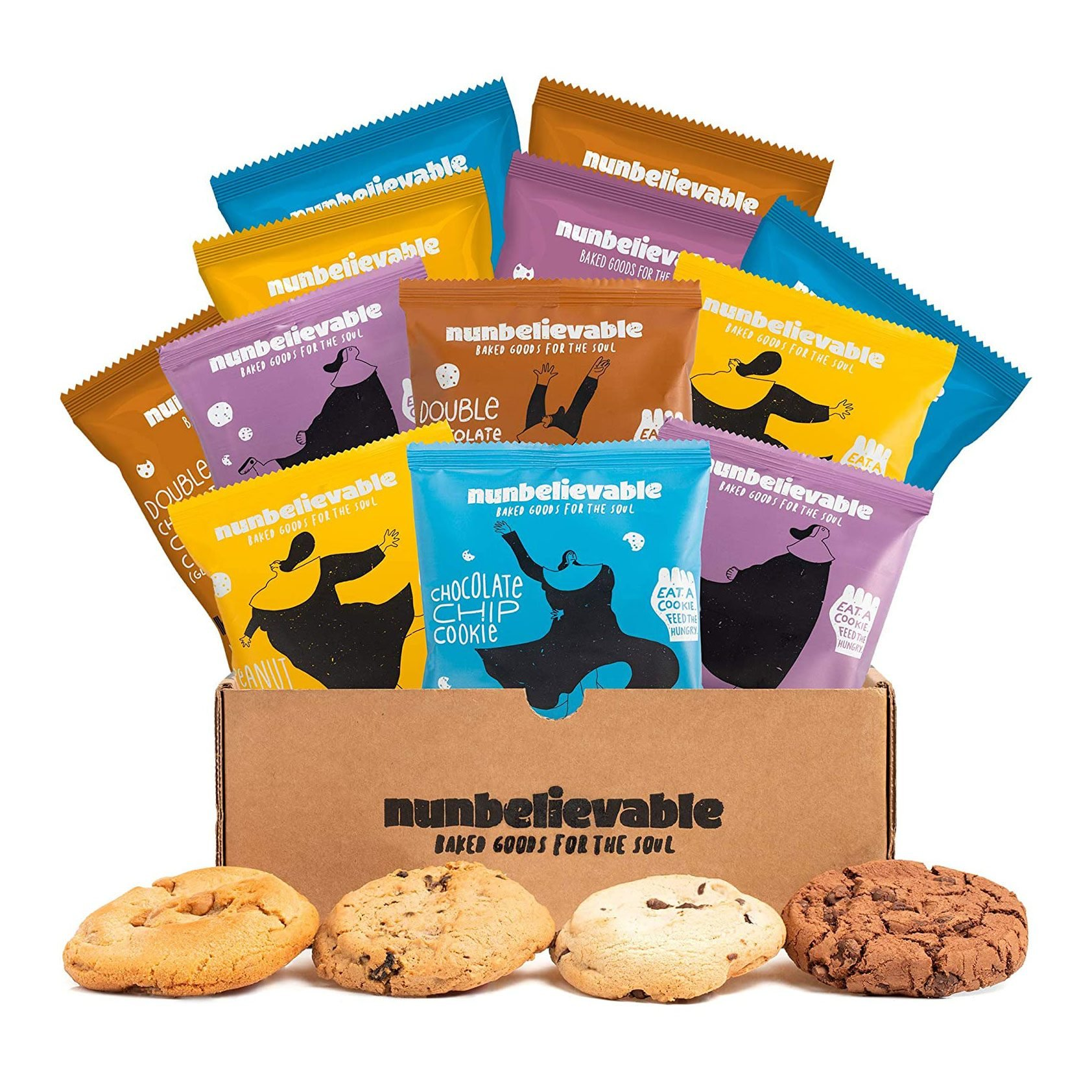 Nunbelievable Cookies Variety Pack