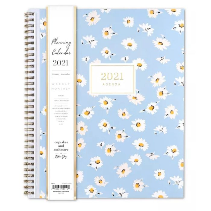 Cupcakes and Cashmere for Blue Sky 2021 Planner