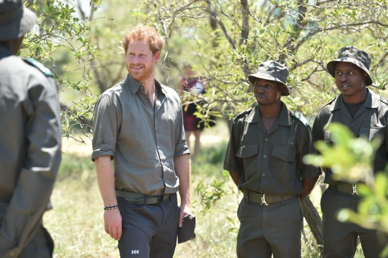 Prince Harry visit to South Africa - 02 Dec 2015