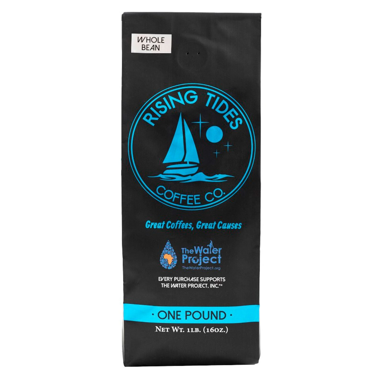 Rising Tides Coffee Co. Blue Label Whole Bean Coffee