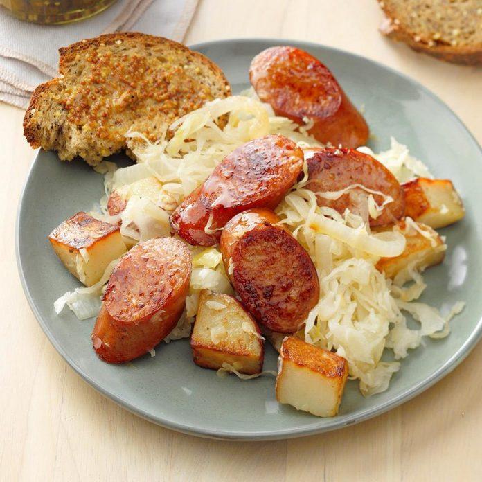 sauerkraut What to eat on new years