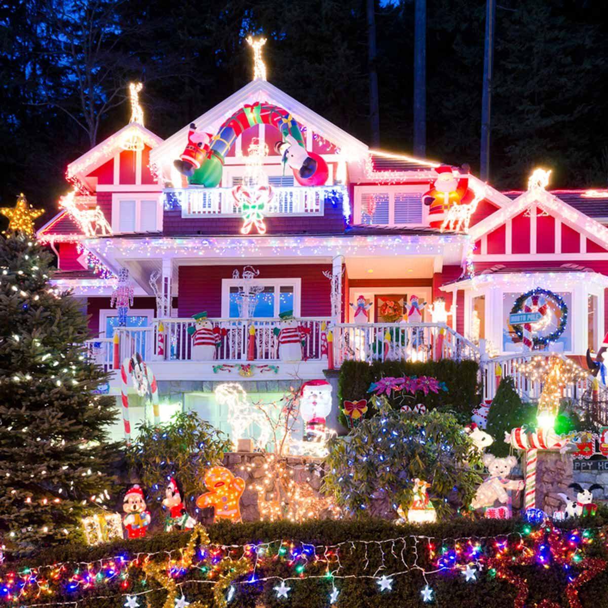 Vancouver christmas lights