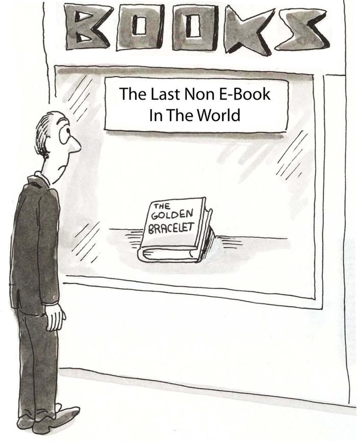 The last non ebook in the world.