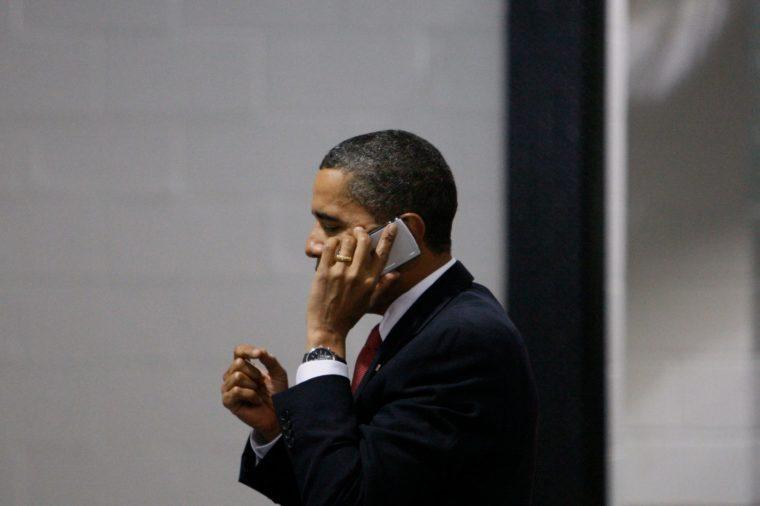 Obama, College Park, USA
