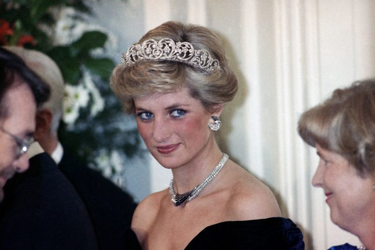 British Royalty Princess Diana Jewelry Diadem, Bonn, Germany