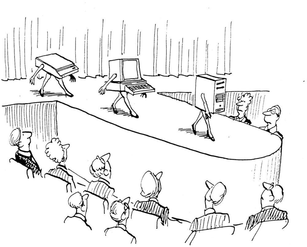 Technology cartoon
