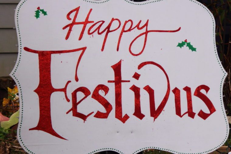 HAPPY FESTIVUS SIGN