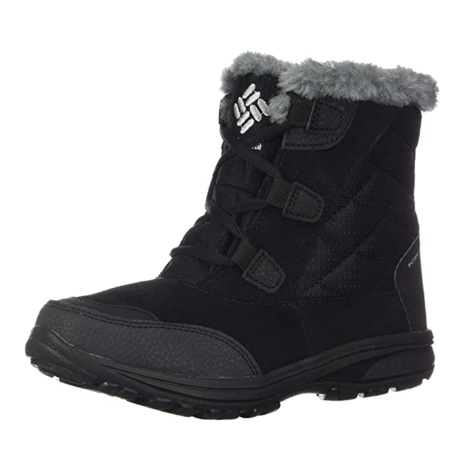 Columbia Women's Ice Maiden Shorty Winter Boot in Waterproof Leather