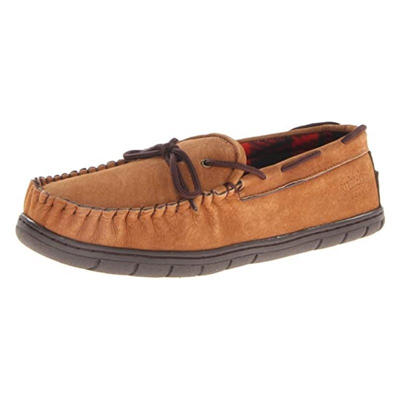 Staheekum Men's Flannel-Lined Slipper