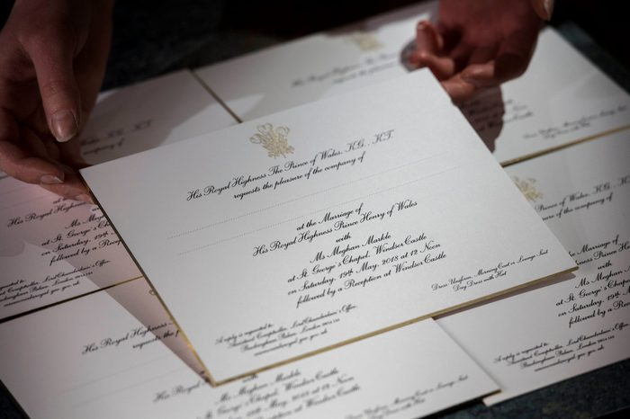 The office and workshop of Barnard and Westwood who are printing the invitations for Prince Harry and Meghan Markle's wedding, London, UK - 22 Mar 2018