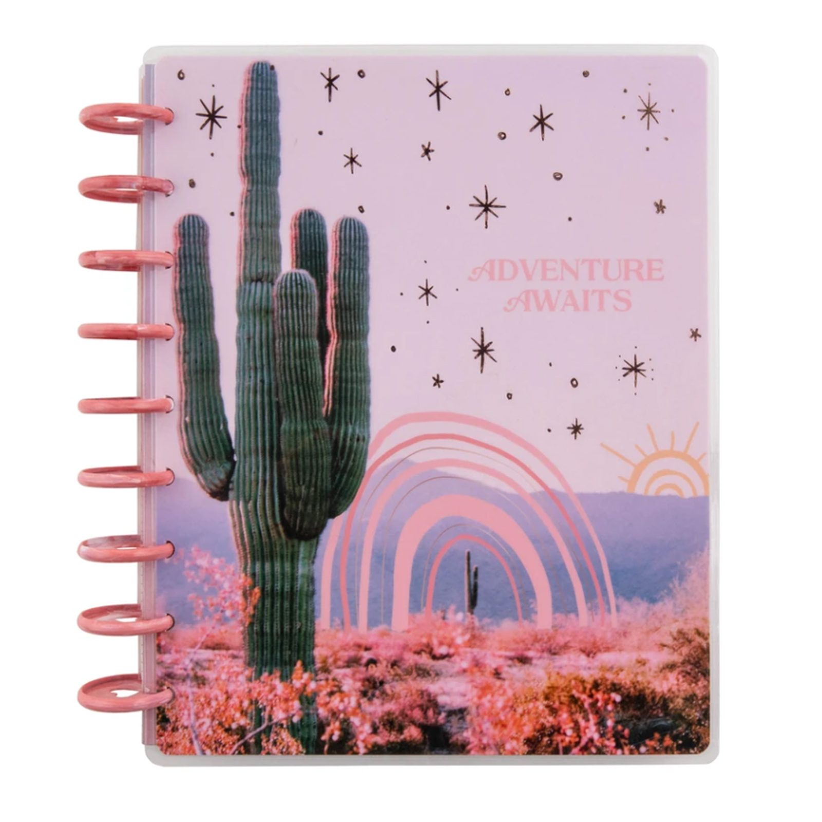 The Happy Planner 2021 Desert Flower Classic Dashboard Planner