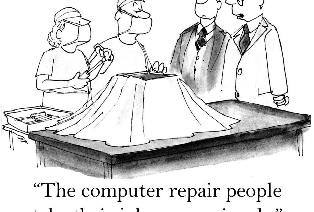 25 Funny Cartoons Technophobes Can Appreciate